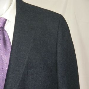 Gant Flannel Weight Recent Two Button Blazer 50R